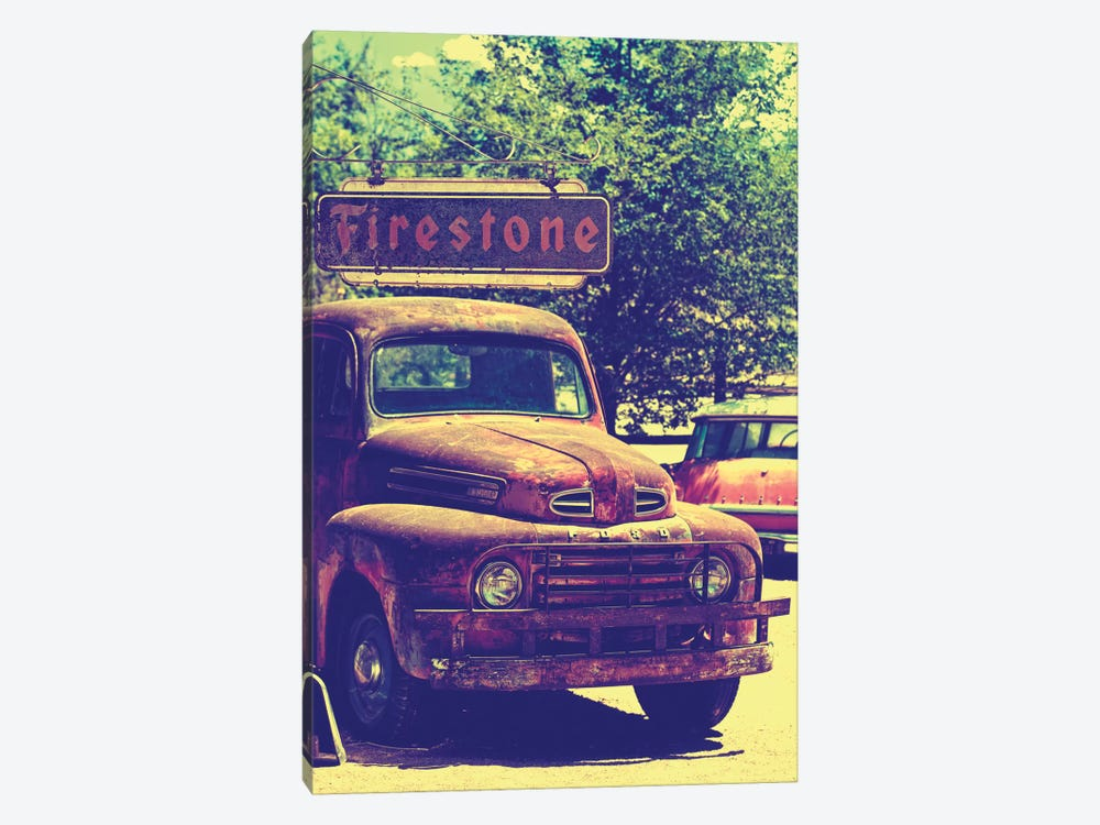 Classic Ford Truck by Philippe Hugonnard 1-piece Canvas Art