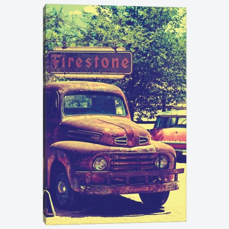 Classic Ford Truck 3-Piece Canvas #PHD152} by Philippe Hugonnard Canvas Artwork