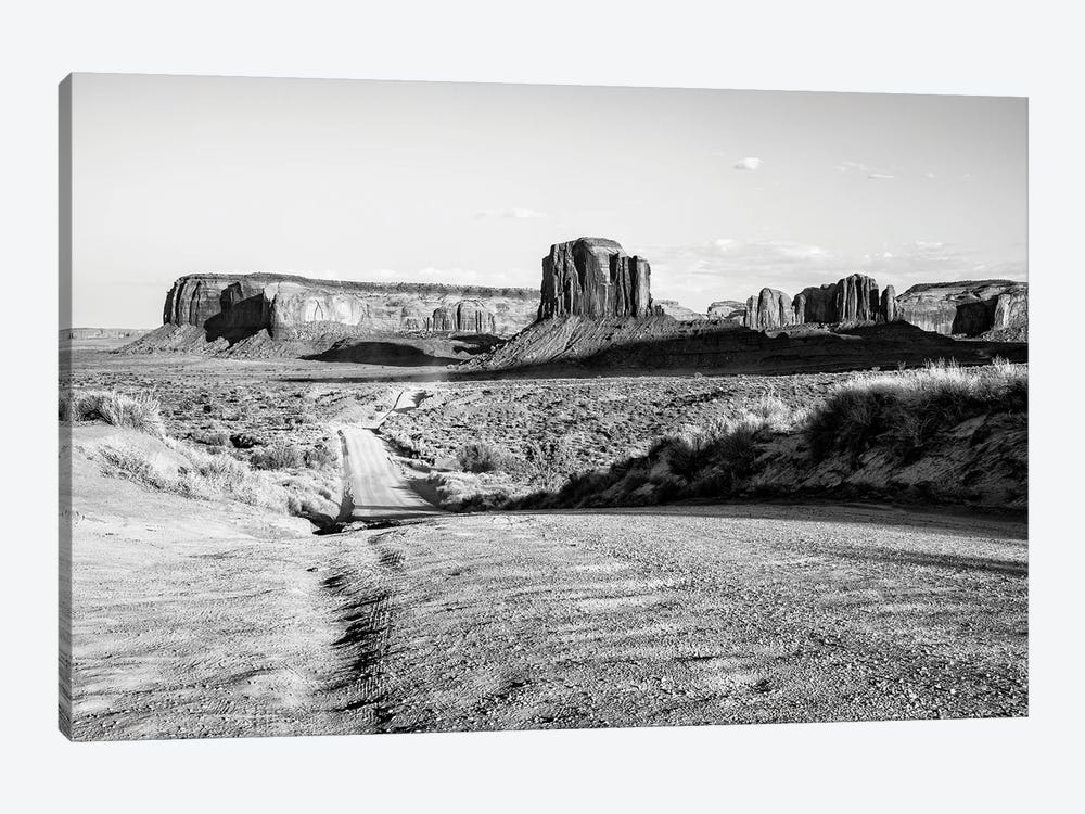 Black Arizona Series - Monument Valley Road Trip by Philippe Hugonnard 1-piece Canvas Art Print
