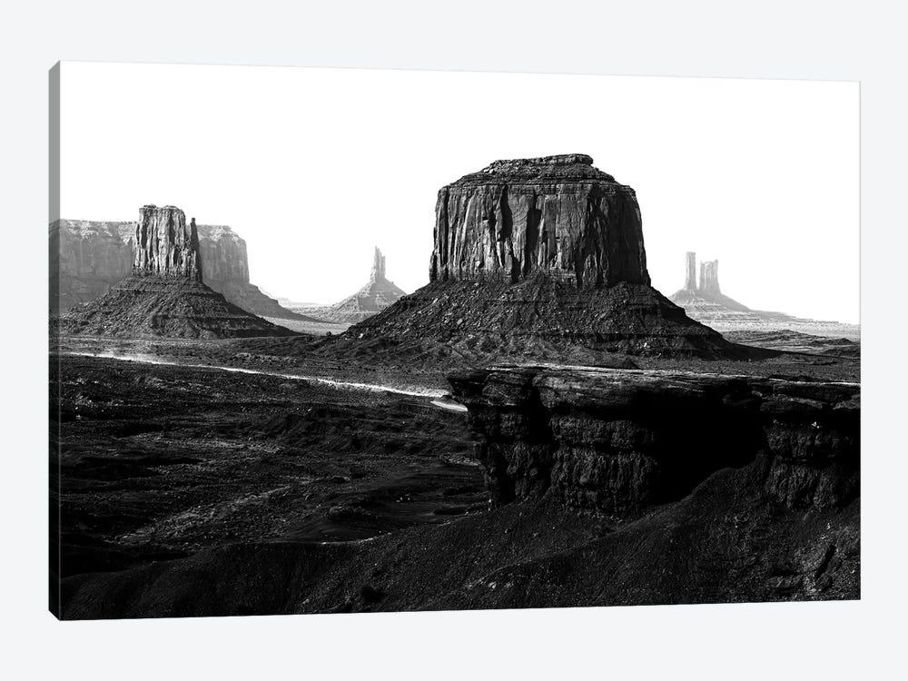 Black Arizona Series - Monument Valley The Legend by Philippe Hugonnard 1-piece Canvas Art