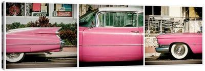 Classic Pink Cadillac Canvas Art Print