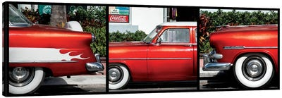Classic Red Ford Canvas Art Print