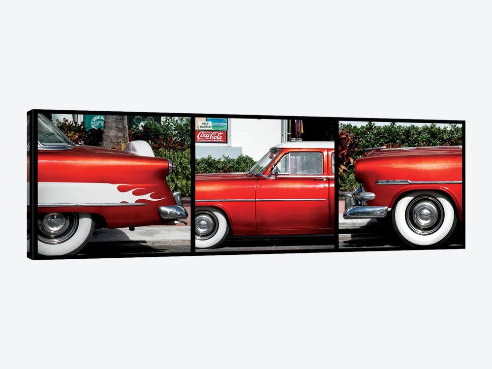 Classic Red Ford by Philippe Hugonnard 1-piece Canvas Art