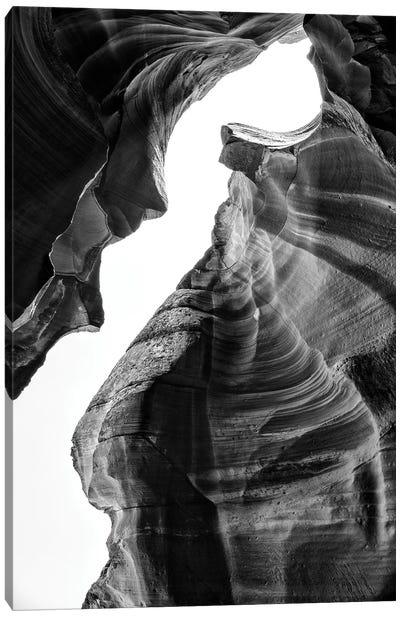 Black Arizona Series - Antelope Canyon Natural Wonder IV Canvas Art Print