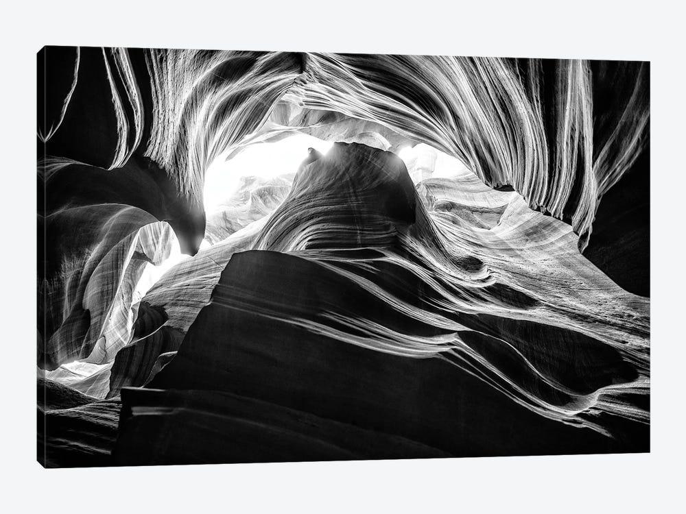 Black Arizona Series - Antelope Canyon Natural Wonder V by Philippe Hugonnard 1-piece Canvas Artwork