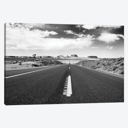 Black Arizona Series - The Valley Drive Canvas Print #PHD1558} by Philippe Hugonnard Canvas Art Print