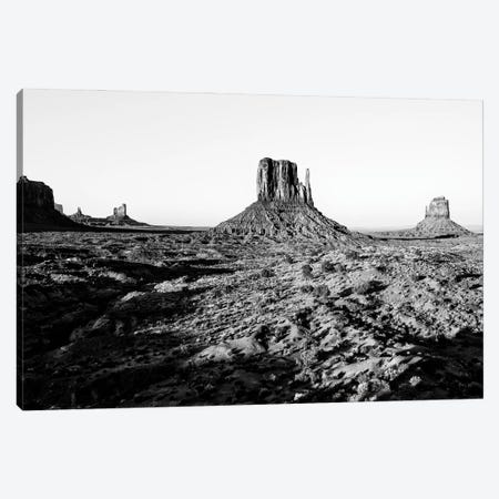 Black Arizona Series - Monument Valley II Canvas Print #PHD1560} by Philippe Hugonnard Canvas Artwork