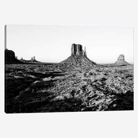 Black Arizona Series - Monument Valley II Canvas Print #PHD1560} by Philippe Hugonnard Canvas Artwork