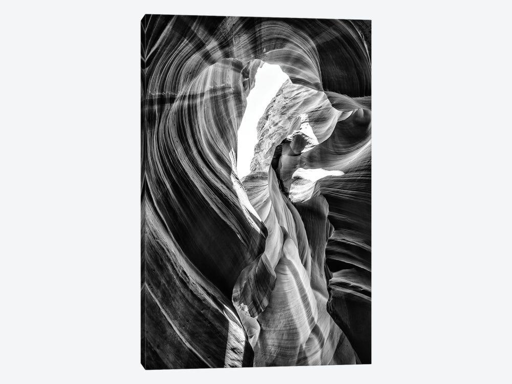 Black Arizona Series - Antelope Canyon Natural Wonder VII by Philippe Hugonnard 1-piece Canvas Art