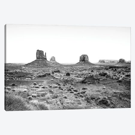 Black Arizona Series - Monument Valley Navajo Tribal Park II Canvas Print #PHD1570} by Philippe Hugonnard Canvas Art Print