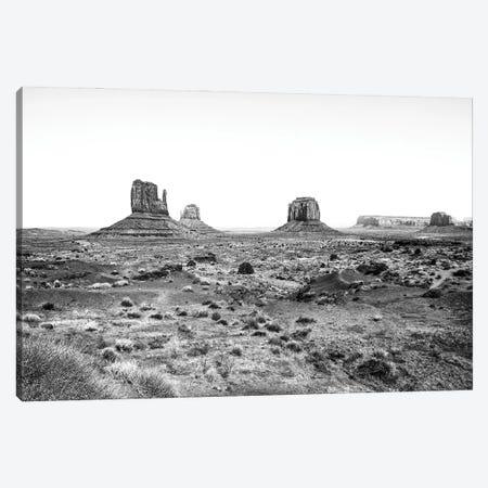 Black Arizona Series - Monument Valley Navajo Tribal Park II Canvas Print #PHD1570} by Philippe Hugonnard Canvas Art Print