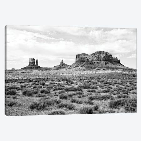 Black Arizona Series - Monument Valley III Canvas Print #PHD1574} by Philippe Hugonnard Canvas Wall Art