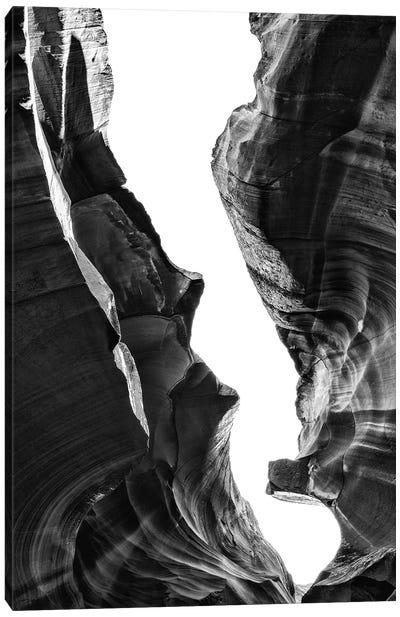 Black Arizona Series - Antelope Canyon Natural Wonder IX Canvas Art Print