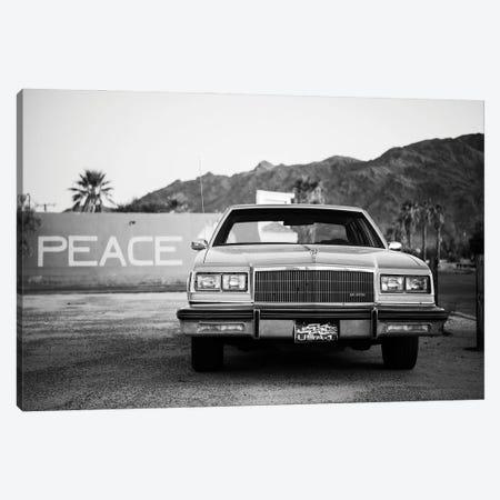 Black Arizona Series - American Classic Car Canvas Print #PHD1582} by Philippe Hugonnard Canvas Art