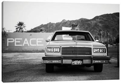 Black Arizona Series - American Classic Car Canvas Art Print