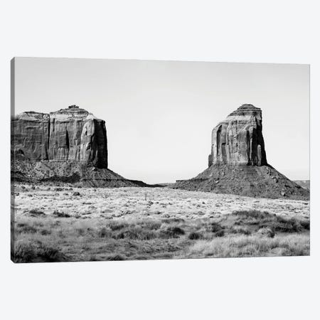 Black Arizona Series - Between Two Rocks Canvas Print #PHD1586} by Philippe Hugonnard Canvas Print