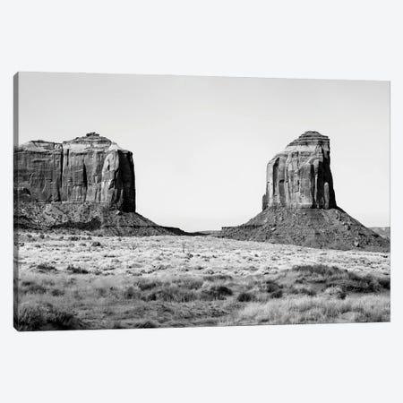 Black Arizona Series - Between Two Rocks Canvas Print #PHD1586} by Philippe Hugonnard Canvas Print