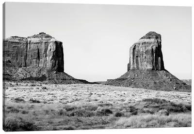 Black Arizona Series - Between Two Rocks Canvas Art Print
