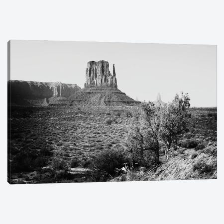 Black Arizona Series - Monument Valley West Mitten Butte III Canvas Print #PHD1602} by Philippe Hugonnard Art Print