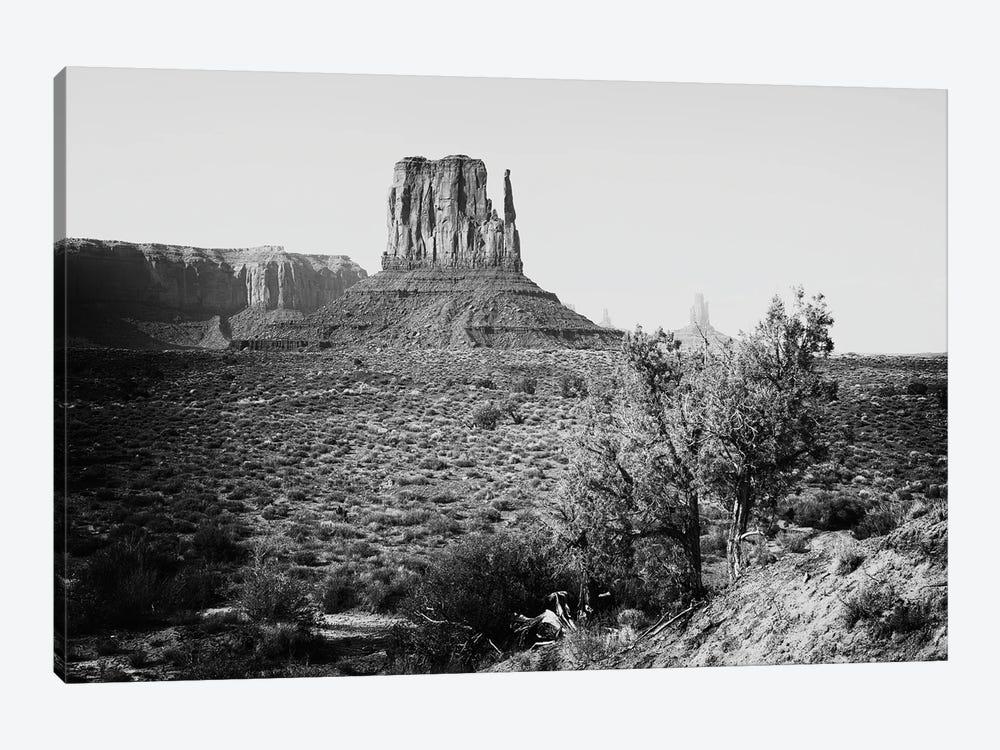 Black Arizona Series - Monument Valley West Mitten Butte III by Philippe Hugonnard 1-piece Canvas Wall Art