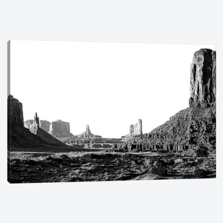 Black Arizona Series - Monument Valley XV Canvas Print #PHD1611} by Philippe Hugonnard Canvas Artwork