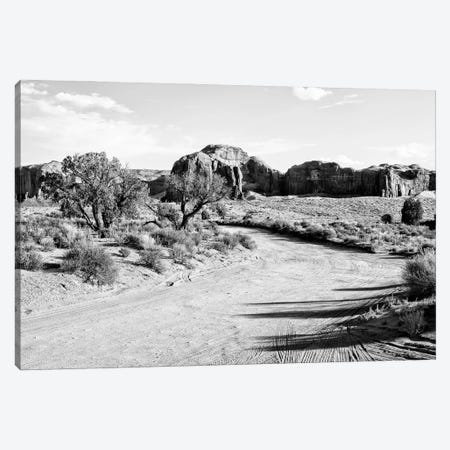 Black Arizona Series - Monument Valley Path Canvas Print #PHD1623} by Philippe Hugonnard Canvas Print