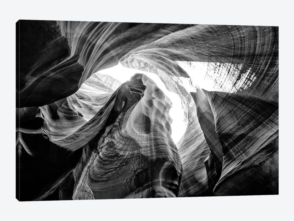 Black Arizona Series - The Antelope Canyon Natural Wonder VII by Philippe Hugonnard 1-piece Art Print