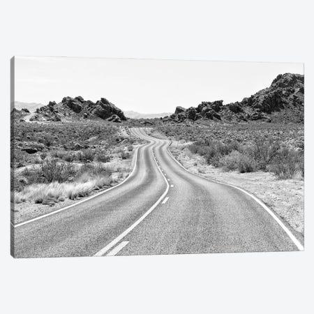 Black Arizona Series - On The Road II Canvas Print #PHD1628} by Philippe Hugonnard Art Print