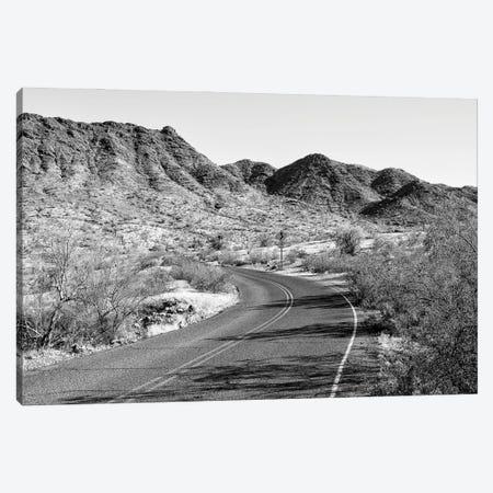 Black Arizona Series - On The Road III Canvas Print #PHD1630} by Philippe Hugonnard Canvas Artwork