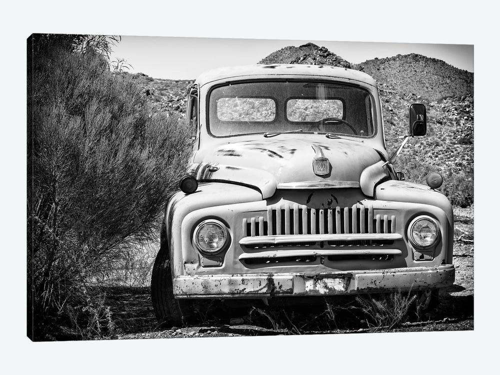 Black Arizona Series - Old Truck by Philippe Hugonnard 1-piece Canvas Art Print