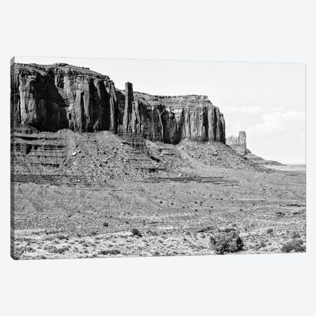 Black Arizona Series - Monument Valley VII Canvas Print #PHD1648} by Philippe Hugonnard Art Print