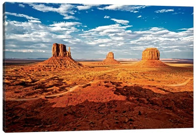 Monument Valley I Canvas Print #PHD164