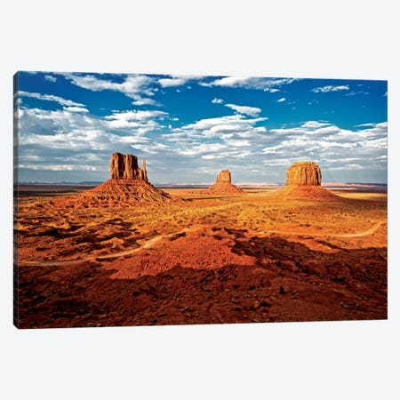 Monument Valley I 3-Piece Canvas #PHD164} by Philippe Hugonnard Canvas Artwork