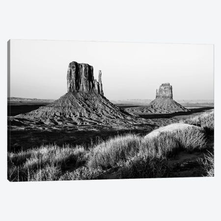 Black Arizona Series - The Monument Valley II Canvas Print #PHD1653} by Philippe Hugonnard Canvas Wall Art