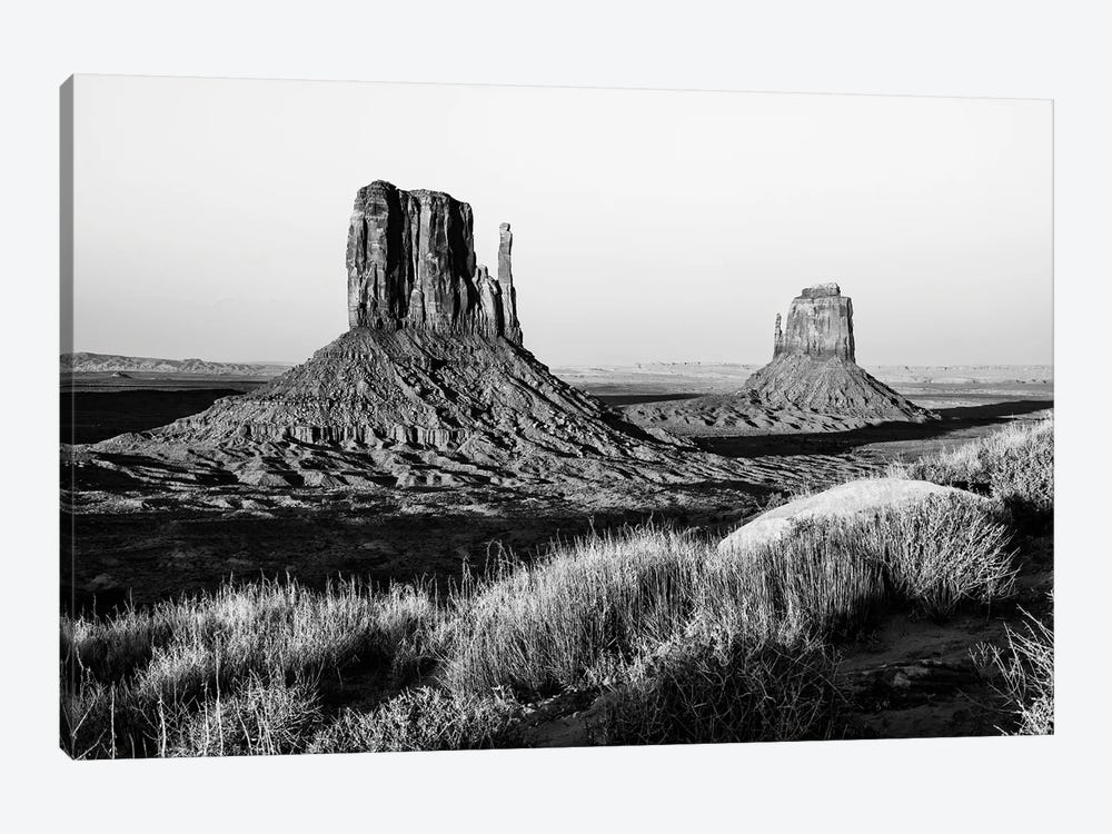 Black Arizona Series - The Monument Valley II by Philippe Hugonnard 1-piece Canvas Art