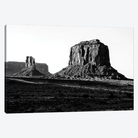 Black Arizona Series - Merrick Butte Monument Valley Canvas Print #PHD1654} by Philippe Hugonnard Canvas Art Print