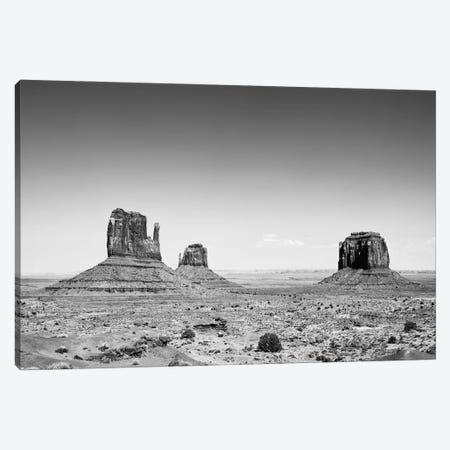 Black Arizona Series - Navajo Park Monument Valley Canvas Print #PHD1657} by Philippe Hugonnard Art Print
