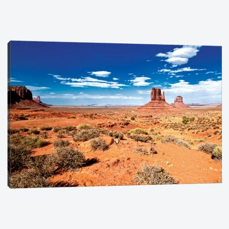 Monument Valley II 3-Piece Canvas #PHD165} by Philippe Hugonnard Canvas Artwork