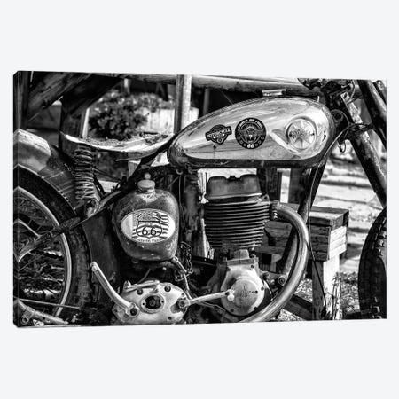 Black Arizona Series - Biker Canvas Print #PHD1664} by Philippe Hugonnard Canvas Wall Art
