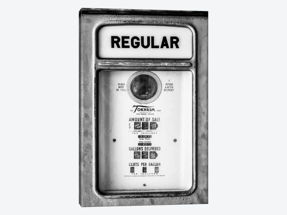 Black Arizona Series - Regular Gas by Philippe Hugonnard 1-piece Canvas Artwork