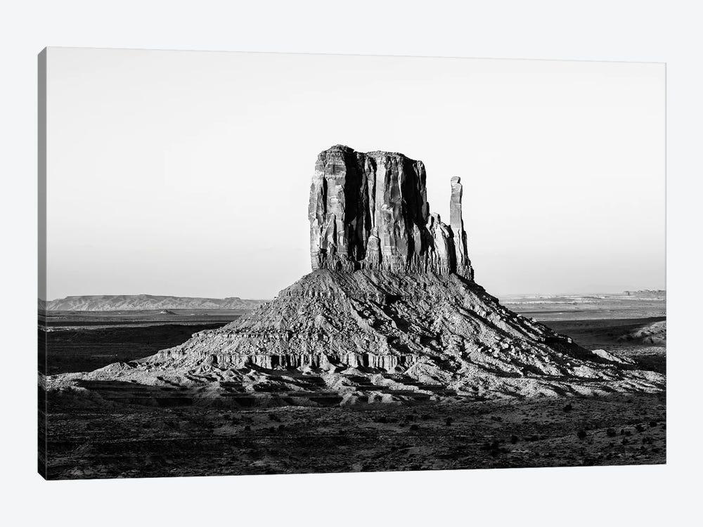 Black Arizona Series - West Mitten Butte Monument Valley III by Philippe Hugonnard 1-piece Canvas Print