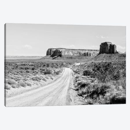 Black Arizona Series - Dirt Road Canvas Print #PHD1674} by Philippe Hugonnard Art Print