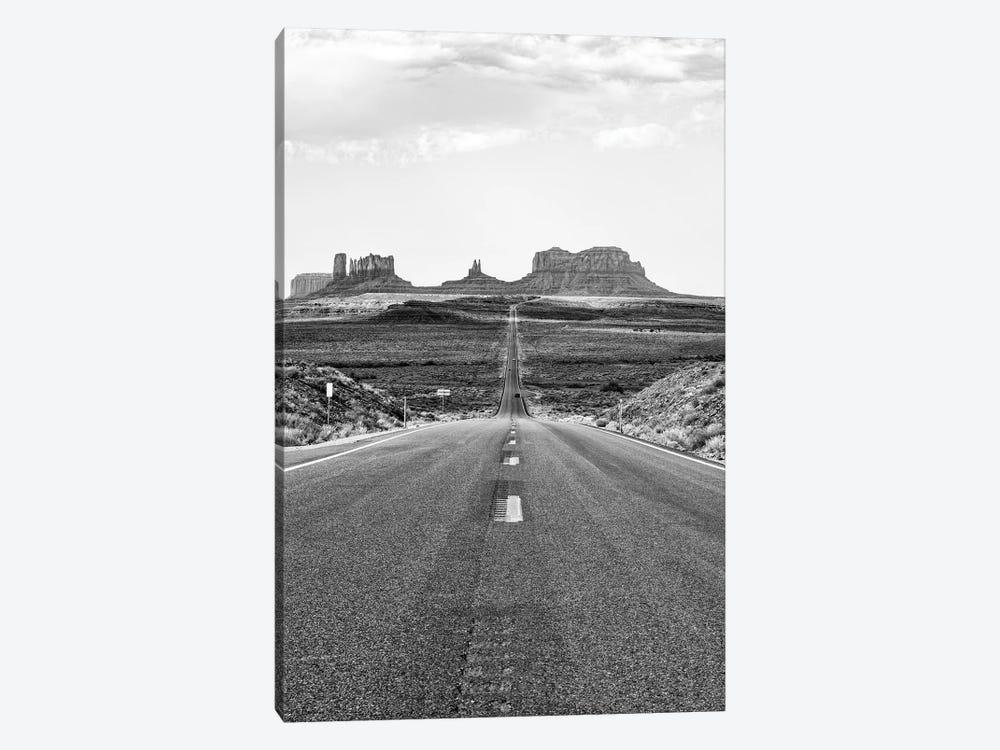 Black Arizona Series - Towards  Monument Valley by Philippe Hugonnard 1-piece Canvas Artwork