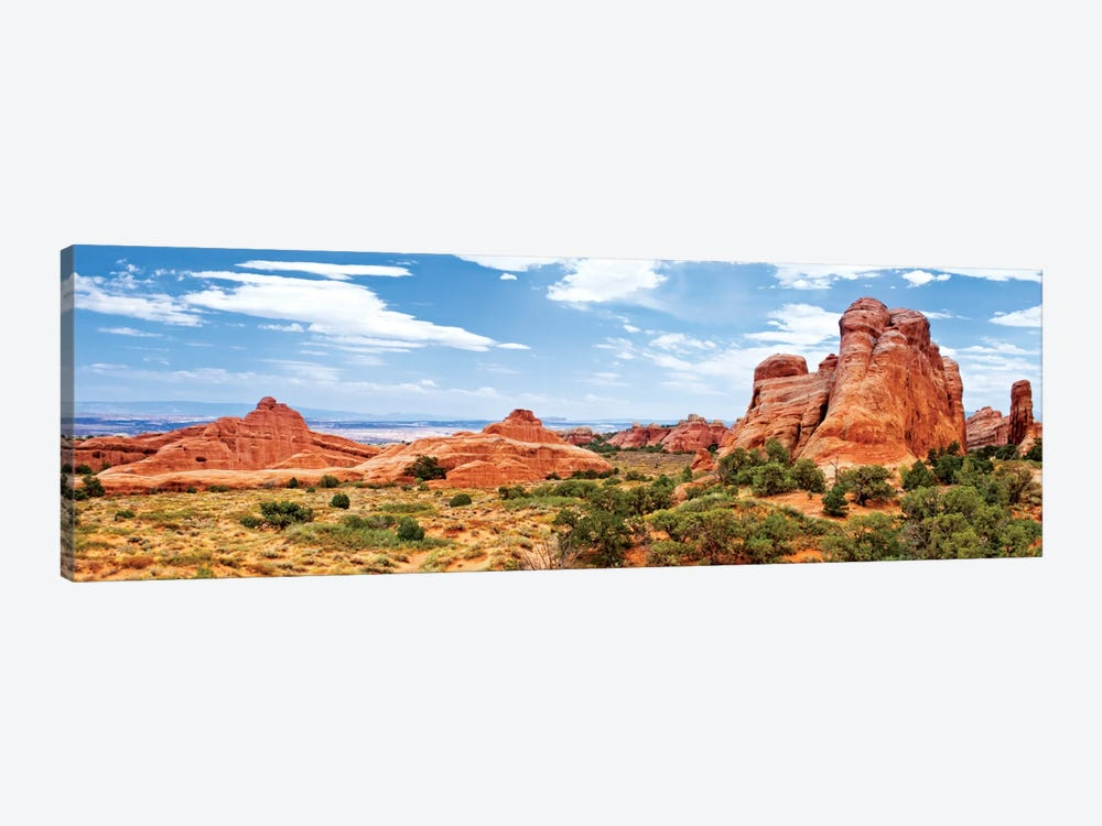 Rock Formations, Arches National Park, Moab, Utah, USA by Philippe Hugonnard 1-piece Canvas Art