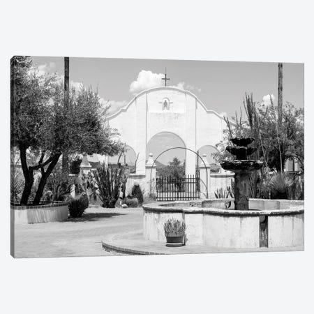 Black Arizona Series - White Church Canvas Print #PHD1681} by Philippe Hugonnard Canvas Art Print