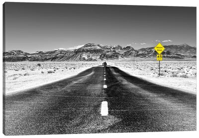 Rough Road, 45 MPH Canvas Art Print