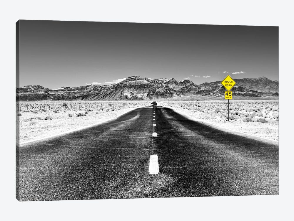 Rough Road, 45 MPH by Philippe Hugonnard 1-piece Canvas Art Print