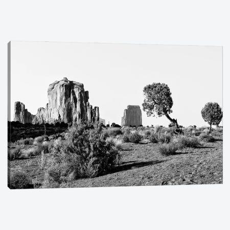 Black Arizona Series -Beautiful Monument Valley Navajo Tribal Park II Canvas Print #PHD1690} by Philippe Hugonnard Canvas Artwork