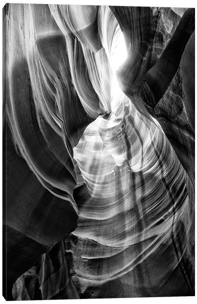 Black Arizona Series - Antelope Canyon Natural Wonder XI Canvas Art Print