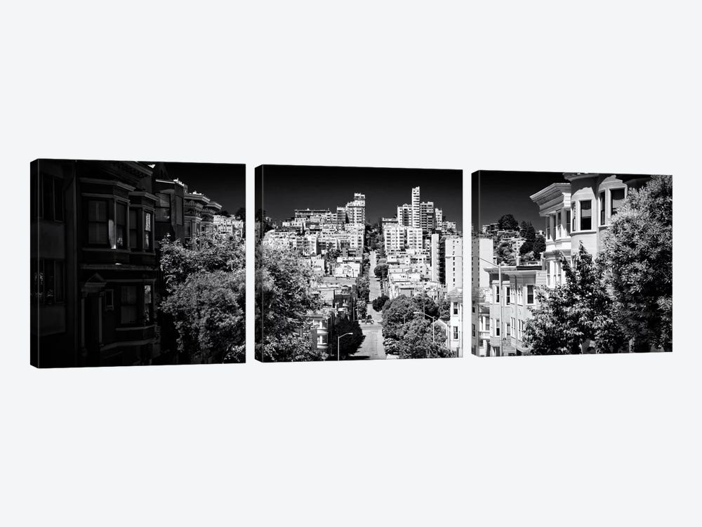 San Francisco by Philippe Hugonnard 3-piece Canvas Wall Art